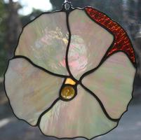 Stained Glass Hibiscus (Mother of Pearl)