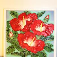Hibiscus Tile large