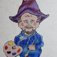 Gnome Painting Jim