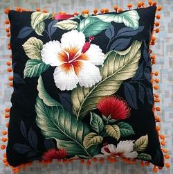 Bark Cloth Pillow 14